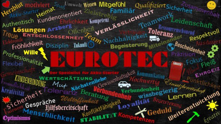 Eurotec neu definiert